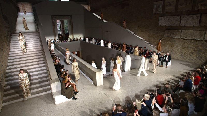 image for Project Max Mara Ressort 2020 Runway Show, Neues Museum Berlin