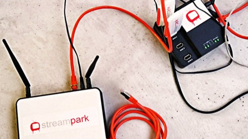 Image for Streampark Internet Everywhere.  Mobile, fast and secure.