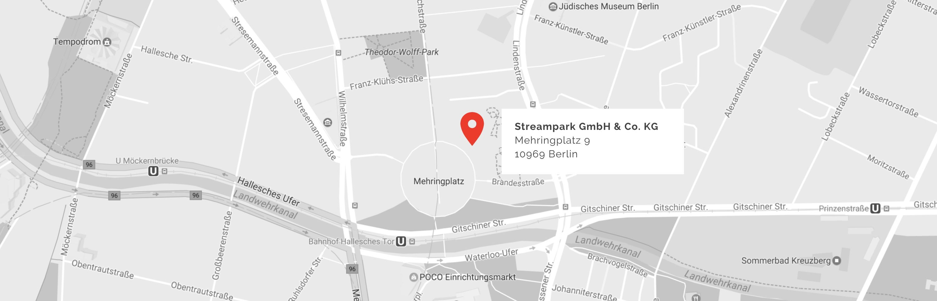 Map to Streampark office